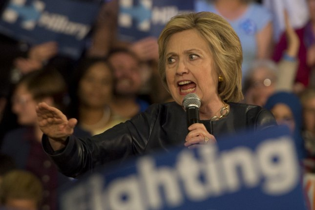 Hillary Clinton picks up the first-ever endorsement from the NRDC Action Fund, which said presumptive Republican nominee Donald Trump would said the fight against climate change back 100 years. Photo by Terry Schmitt/UPI