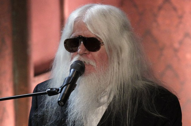 Leon Russell performs at the Rock and Roll Hall of Fame induction ceremonies in New York City on March 14, 2011. File Photo by John Angelillo/UPI