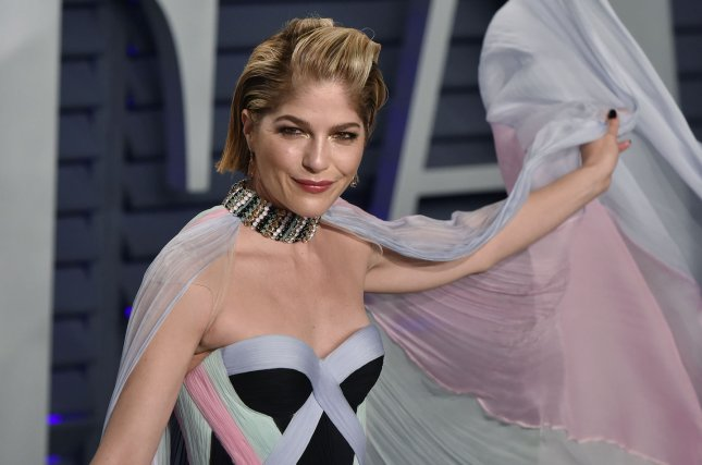 Selma Blair shared a message of perseverance while feeling sick as all hell from her treatments for multiple sclerosis. File Photo by Christine Chew/UPI