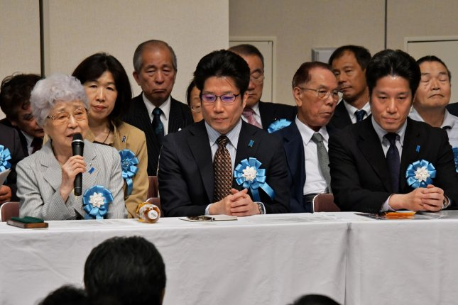 Families of abducted Japanese citizens are aging and the issue must be resolved with North Korea, Tokyo said Wednesday. File Photo by Keizo Mori/UPI