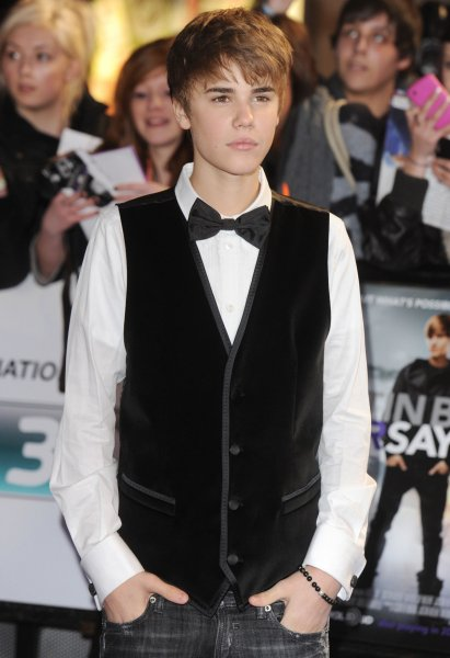 Canadian singer Justin Bieber attends the European premiere of Justin Bieber: Never Say Never at O2 Arena in London on February 16, 2011. UPI/Rune Hellestad