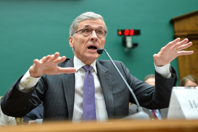 Federal Communications Commission (FCC) Chairman Tom Wheeler testifies during a House Energy and Commerce Communications and Technology Subcommittee hearing on oversight of the FCC, on Capitol Hill in Washington, D.C. on May 20, 2014. UPI/Kevin Dietsch