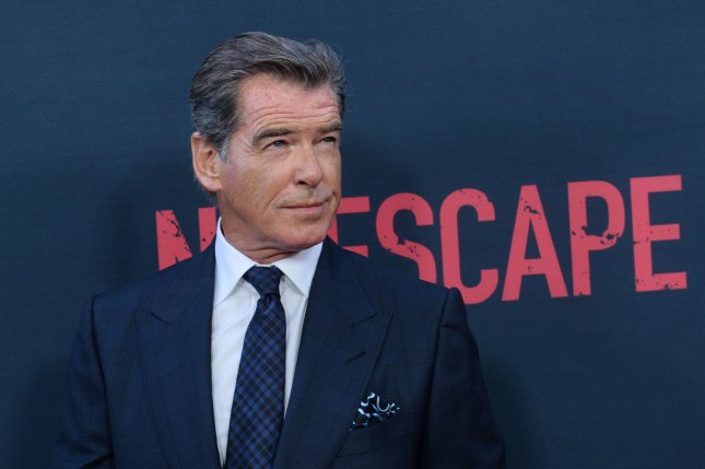 Pierce Brosnan at the Los Angeles premiere of No Escape on Aug. 17, 2015. File Photo by Jim Ruymen/UPI