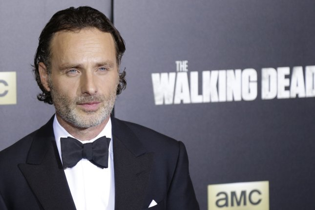 Andrew Lincoln is leaving The Walking Dead in Season 9, franchise creator Robert Kirkman has confirmed. File Photo by John Angelillo/UPI