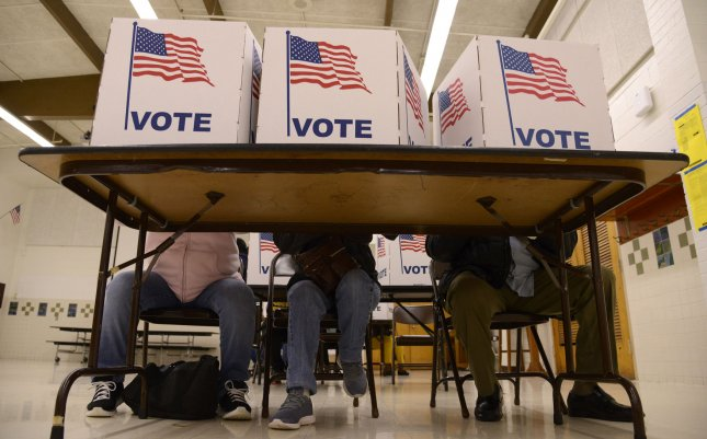 Maine's governor signed a law allowing for automatic voter registration starting in 2022 on Thursday. File Photo by Mike Theiler/UPI