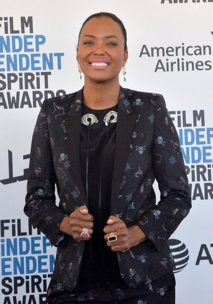 Aisha Tyler attends the 34th annual Film Independent Spirit Awards in Santa Monica, Calif., on February 23, 2019. The actor turns 50 on September 18. File Photo by Jim Ruymen/UPI