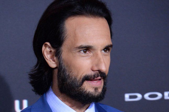 Rodrigo Santoro received a blessing from Pope Francis for his role as Jesus in the film Ben-Hur. Photo by Jim Ruymen/UPI