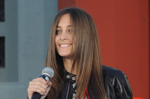 Paris Jackson at Michael Jackson's posthumous TCL Chinese Theatre hand and footprint ceremony on January 26, 2012. The teenager honored her late dad with a new tattoo Monday. File Photo by Jim Ruymen/UPI