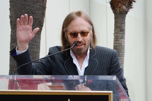 Coroners found multiple drugs in Tom Petty's system, including Fentanyl and oxycodone, which he was prescribed for knee problems and a hip fracture. File Photo by Jim Ruymen/UPI