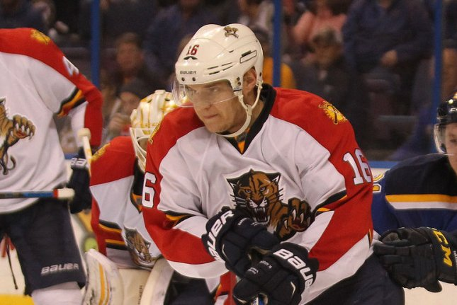 Aleksander Barkov and the Florida Panthers face the Philadelphia Flyers on Tuesday. Photo by Bill Greenblatt/UPI