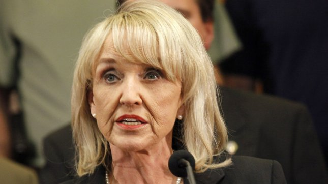 The state of Arizona, led by Gov. Jan Brewer, has said that denying state benefits to domestic partners does not specifically discriminate against gays and lesbians. UPI/Art Foxall