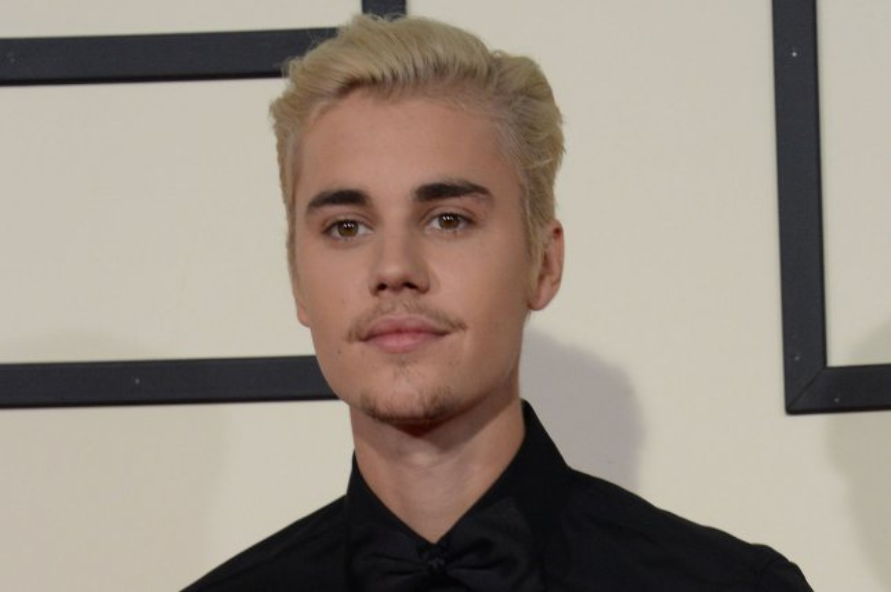 Justin Bieber at the Grammy Awards on February 15. File Photo by Jim Ruymen/UPI