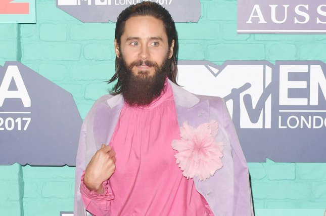 Jared Leto has been tapped to portray Spider-Man antihero Morbius in a upcoming spinoff film. File Photo by Rune Hellestad/ UPI