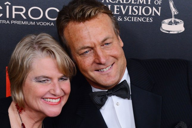 Doug Davidson and wife Cindy Fisher arrive for the Daytime Emmy Awards in Beverly Hills on June 16, 2013. Davidson said his contract was not renewed on The Young & the Restless this year. File Photo by Jim Ruymen/UPI