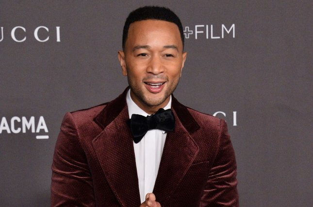 John Legend is participating in iHeartMedia's Why I'm Voting campaign and podcast series with Melissa Etheridge.  File Photo by Jim Ruymen/UPI