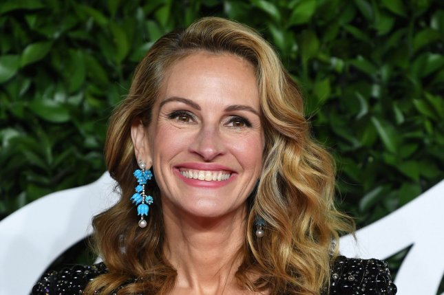 Julia Roberts will star alongside George Clooney in rom-com Ticket to Paradise, which is coming to theaters in 2022. File Photo by Rune Hellestad/UPI