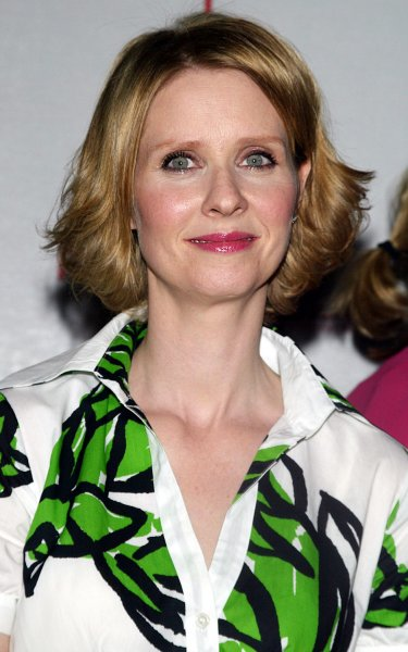 Cynthia Nixon arrives at the Tribeca Film Festival screening of her new movie One Last Thing at the AMC Loews Lincoln Square Theater in New York on April 27, 2006. (UPI Photo/Laura Cavanaugh)