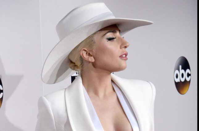 Lady Gaga arrives for the 2016 American Music Awards held at Microsoft Theater in Los Angeles on November 20, 2016. Photo by Jim Ruymen/UPI