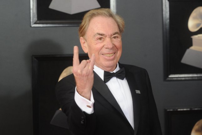 Andrew Lloyd Webber's career will be celebrated in the new show Unmasked, which will have its world premiere at the Paper Mill Playhouse in Millburn, N.J. File Photo by Dennis Van Tine/UPI