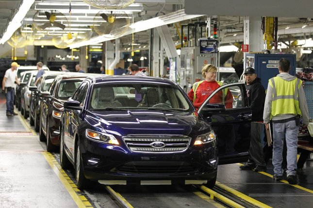 Workers assemble Ford Explorers and Tauruses and Lincoln MKZs at Ford's Chicago Assembly Plant. United Automobile Workers members ratified a new four-year contract with the company. File Photo by Brian Kersey