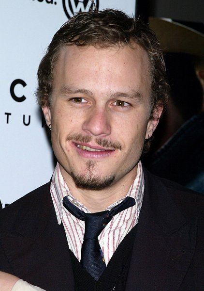 Heath Ledger seen in this December 2005 file photo (UPI Photo/Laura Cavanaugh/Files)