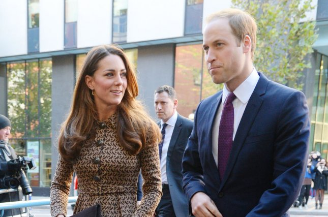 Prince William and Catherine are expected to let their hair down, just a bit, in New York. UPI/ Rune Hellestad