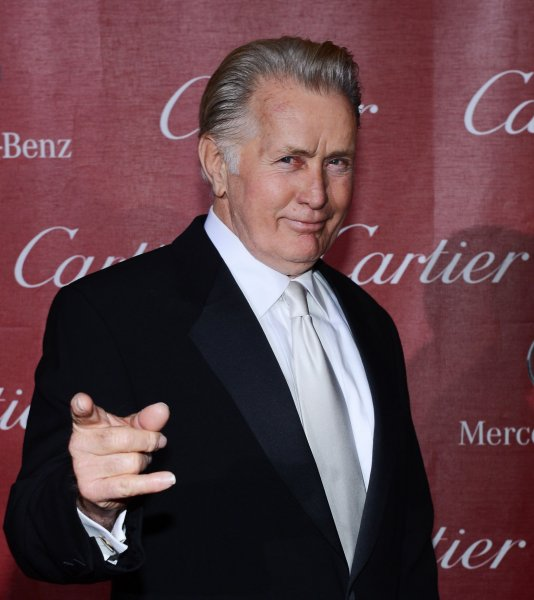 Martin Sheen at the Palm Springs International Film Festival in 2013. The actor praised son Charlie Sheen for revealing he is HIV-positive Tuesday. File Photo by Jim Ruymen/UPI