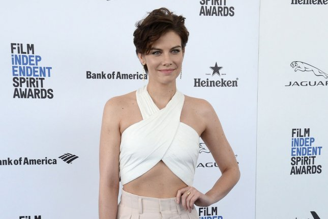 The Walking Dead actress Lauren Cohan attends the 31st annual Film Independent Spirit Awards in Santa Monica on February 27. File Photo by Jim Ruymen/UPI