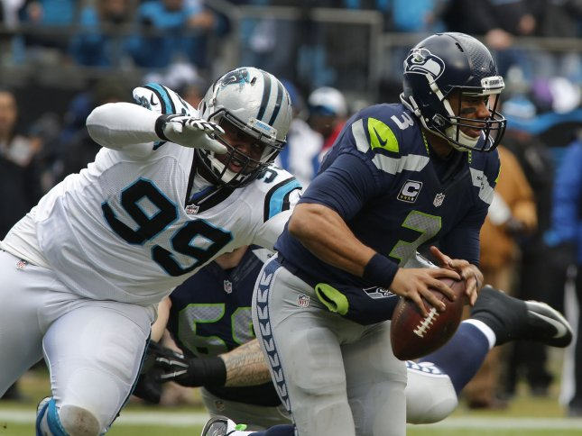 The Panthers and Seahawks have staged some memorable battles the past few years, but the teams are currently going in opposite directions. Seattle is headed for a fourth straight postseason, while Carolina's playoff hopes are pretty much gone. Photo by Nell Redmond/UPI