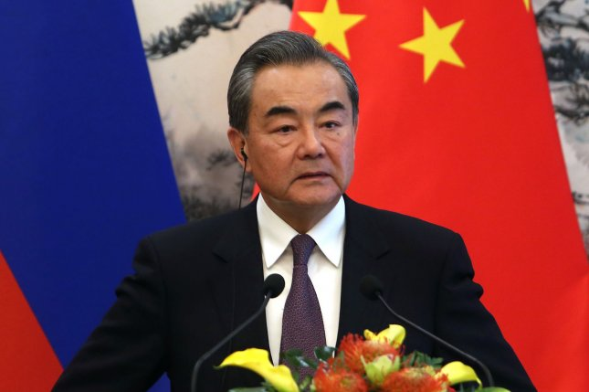 China's Foreign Minister Wang Yi is on a tour of Japan and South Korea this week as both countries experience a resurgence in COVID-19 cases. File Photo by Stephen Shaver/UPI