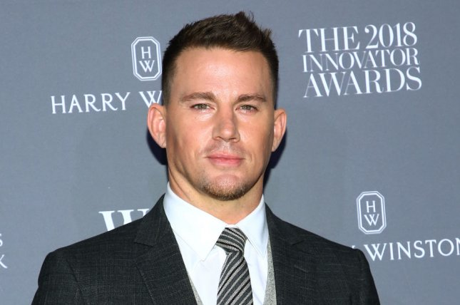 Channing Tatum discussed getting into shape during the COVID-19 pandemic and working with Sandra Bullock on The Tonight Show Starring Jimmy Fallon. File Photo by Monika Graff/UPI