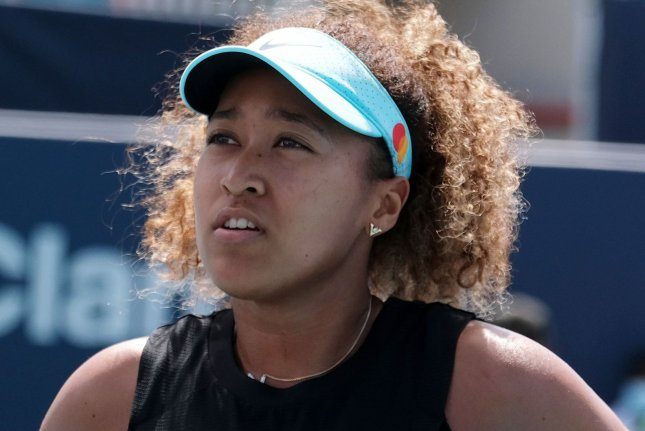 Naomi Osaka will not play in next week's 2021 bet10 Open, a grass-court tournament in Berlin that tennis players use to prepare for Wimbledon. File Photo by Gary I Rothstein/UPI