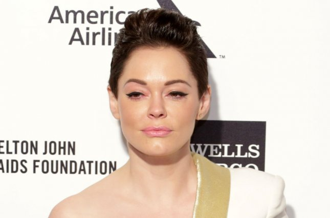 Rose McGowan has canceled all public appearances after she was among the first women to accuse Harvey Weinstein of sexual assault. File Photo by Jonathan Alcorn/UPI