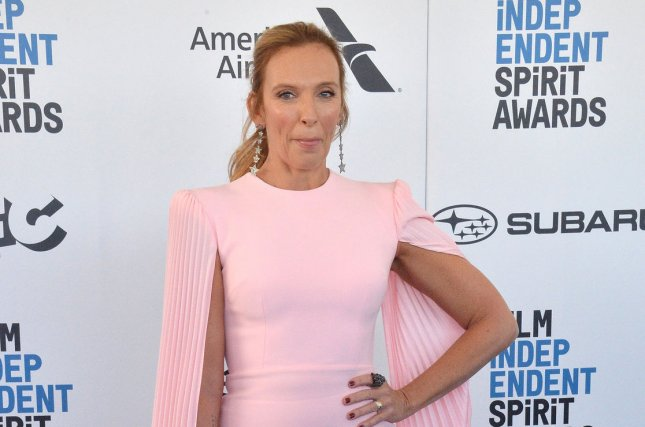 Actress Toni Collette has signed on to star in Charlie Kaufman's next movie, I'm Thinking of Ending Things. File Photo by Jim Ruymen/UPI