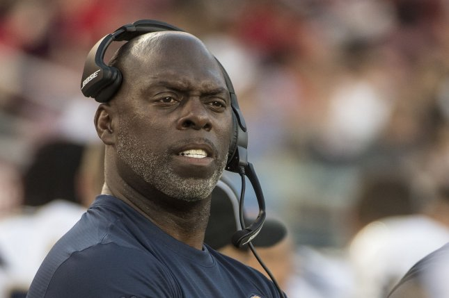 Brandon Staley will replace former Los Angeles Chargers head coach Anthony Lynn (pictured), who was fired earlier this month after four seasons. File Photo by Terry Schmitt/UPI