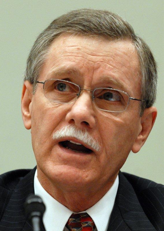 UAW President Ron Gettelfinger (UPI Photo/Roger L. Wollenberg)