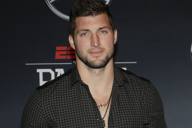 Tim Tebow hit .273 with six home runs and 36 RBIs in 84 games in 2018 for the Double-A Binghamton Rumble Ponies. File photo by John Angelillo/UPI