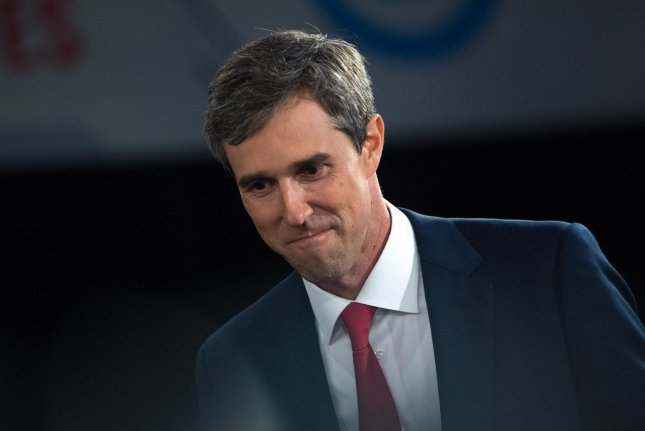 Beto O'Rourke, who owes his prominence to an unconventional U.S. Senate race last year, is flipping his by-the-book campaign for president into something more noticeable. Photo by Kevin Dietsch/UPI