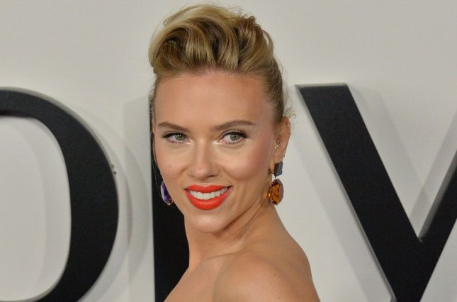 Scarlett Johansson said the Black Widow film will be fun but also take on tough topics. File Photo by Jim Ruymen/UPI