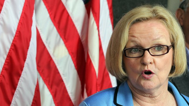 Missouri Democratic Sen. Claire McCaskill seen in a May 2011 phoot should learn Tuesday which Republican challenger she will face in November. UPI File Photo/Bill Greenblatt