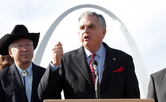 Transportation Secretary Ray LaHood, who with his Mexican counterpart, has corrected a dispute over long-haul trucking. UPI/Bill Greenblatt