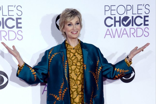 Actress Jane Lynch arrives for the 42nd annual People's Choice Awards at the Microsoft Theater in Los Angeles on January 6, 2016. Photo by Jim Ruymen/UPI