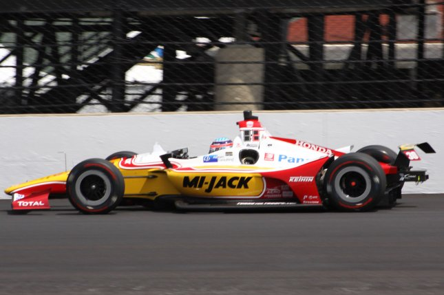 Takuma Sato becomes the 20th two-time winner of the Indy 500. It was his second win in the last four tries at the iconic track. File Photo by Bill Coons/UPI
