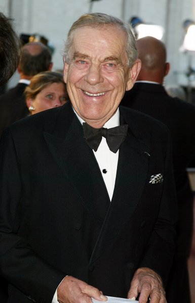 Morley Safer, seen here arriving for the opening of the Metropolitan Opera's 2007-2008 season at Lincoln Center in New York on September 24, 2007, died Thursday, He was 84. File Photo by Laura Cavanaugh/UPI