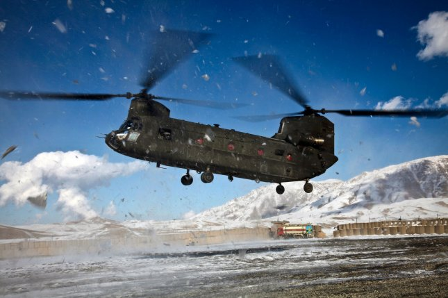 Boeing Co. received a $30.7 million delivery order for MH-47G Chinook helicopter components, the Defense Department announced on Thursday. Photo by Teddy Wade/U.S. Army
