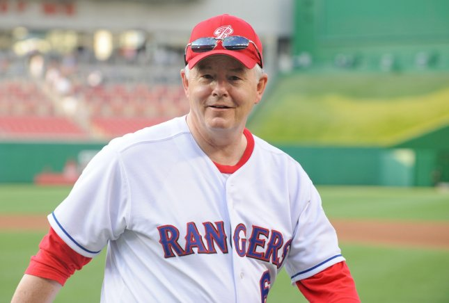 Rep. Joe Barton (R-TX) walks to the dugout before they play against the Democrats at the 49th Annual Congressional Baseball Game at Nationals Stadium in Washington on June 29, 2010. UPI/Alexis C. Glenn