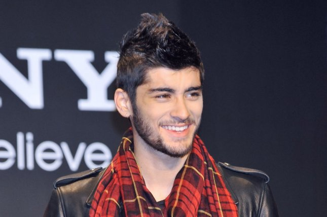 Zayn Malik announced his departure from British boy band One Direction on Wednesday. File photo by Keizo Mori/UPI