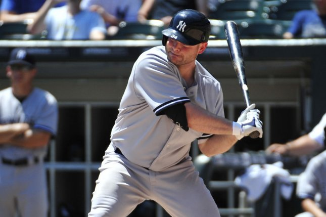 New York Yankees' Brian McCann. Photo by David Banks/UPI