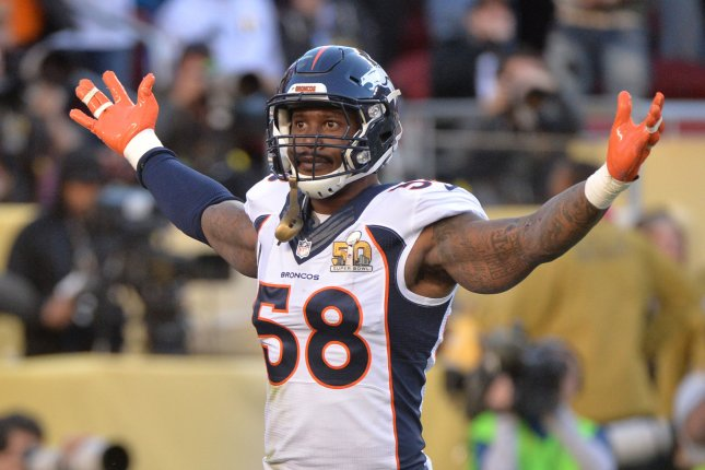 Von Miller jokes that he was traded to Browns