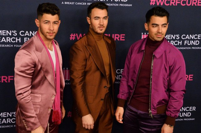 The Jonas Brothers' song, Sucker, has won Song of the Year at the ASCAP Pop Music Awards. File Photo by Jim Ruymen/UPI